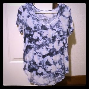 Hollister tie dyed tee